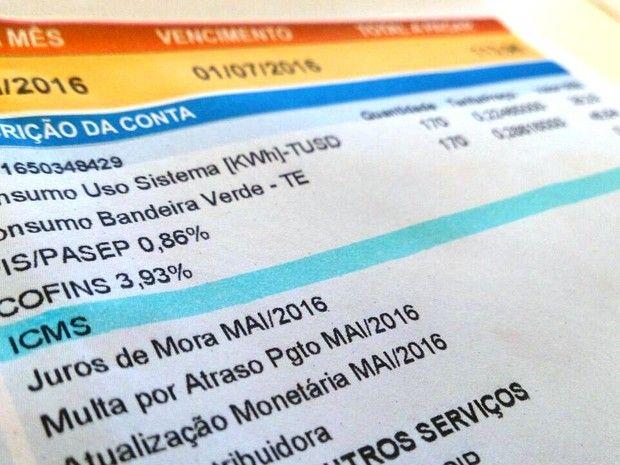 Brasileiros pagaram mais de R$ 50 bilhões em impostos indevidos relacionados a tarifas de energia elétrica - Reprodução