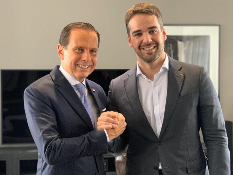 Doria perde espaço para Leite na disputa das prévias do PSDB - Reprodução