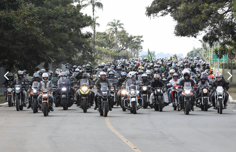 Governo de SP multa Bolsonaro por não usar máscara em manifestação neste sábado - Marcos Corrêa/PR