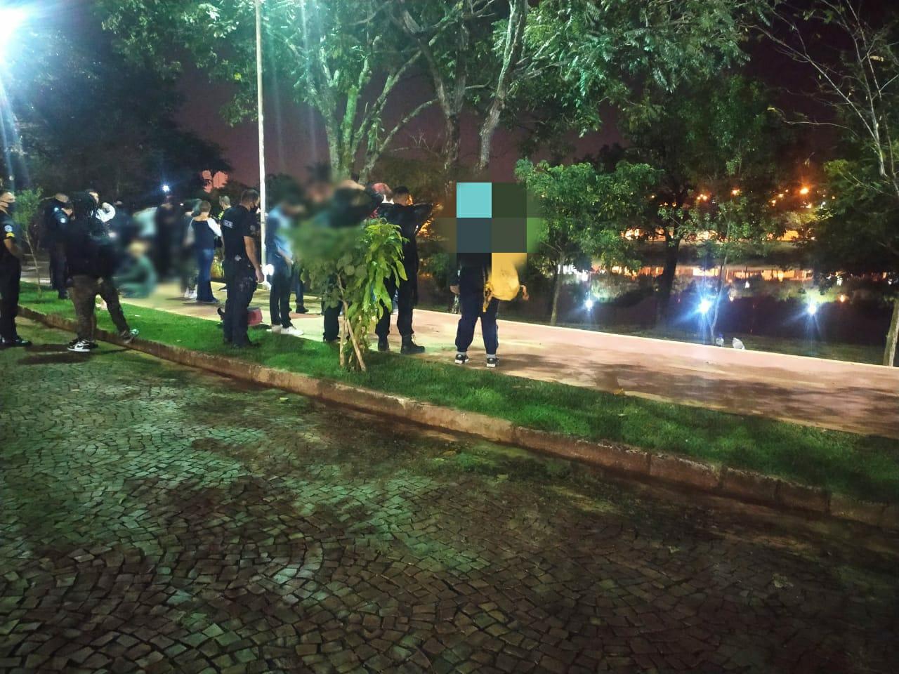 Fiscalização da Vigilância Sanitária flagra vários pontos de aglomerações em Rio Preto - Divulgação/GCM