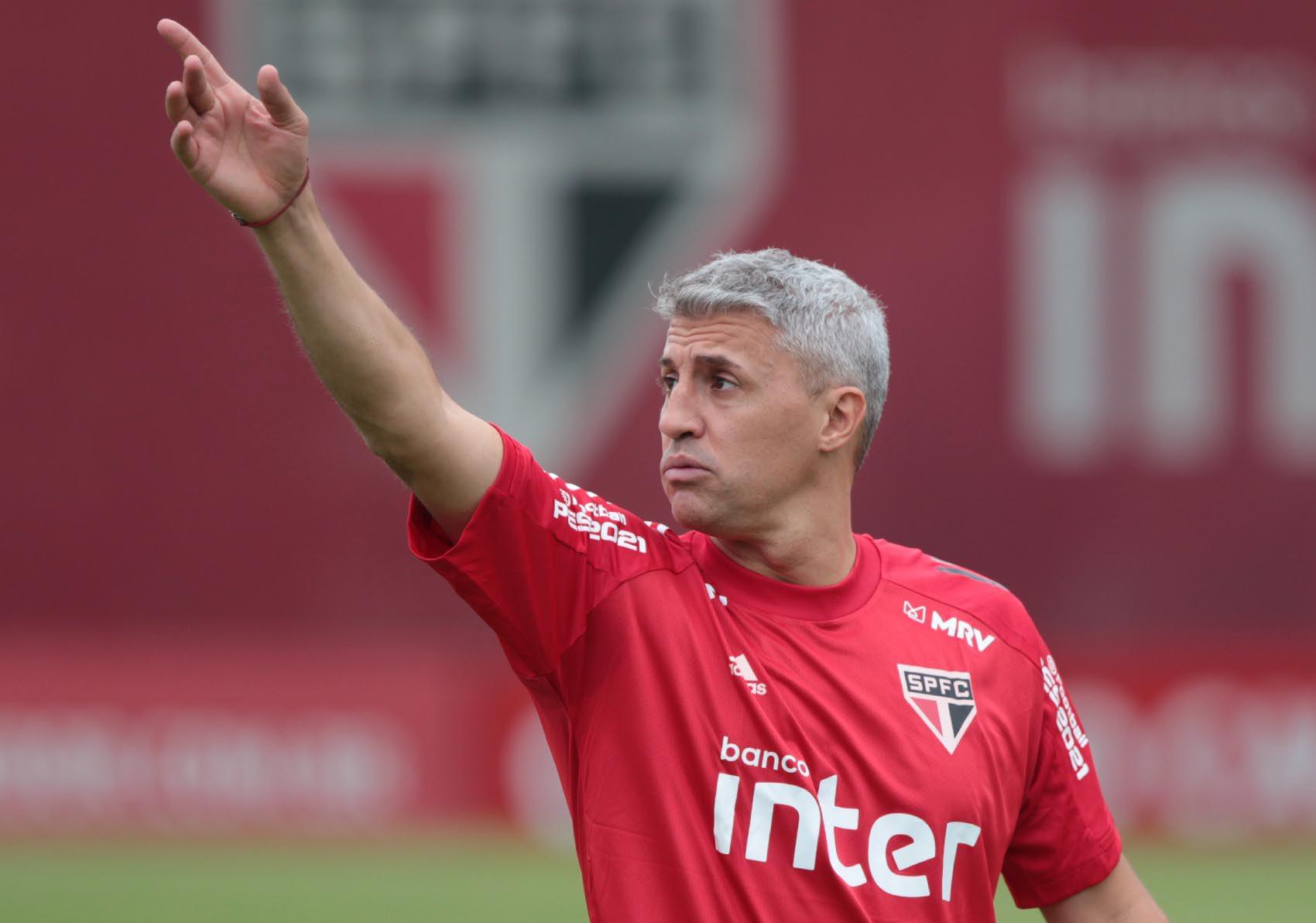 Após empates e críticas, São Paulo anuncia saída do técnico Hernán Crespo - SPFC/Divulgação