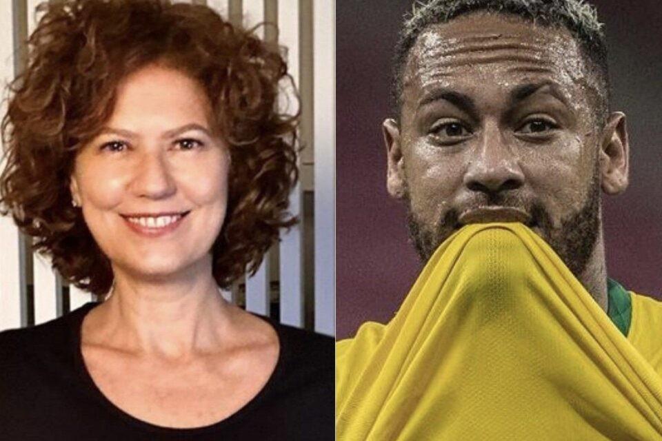 """""""Decepciona mais a cada dia"""", diz Patricia Pillar sobre Neymar - Reprodução"""
