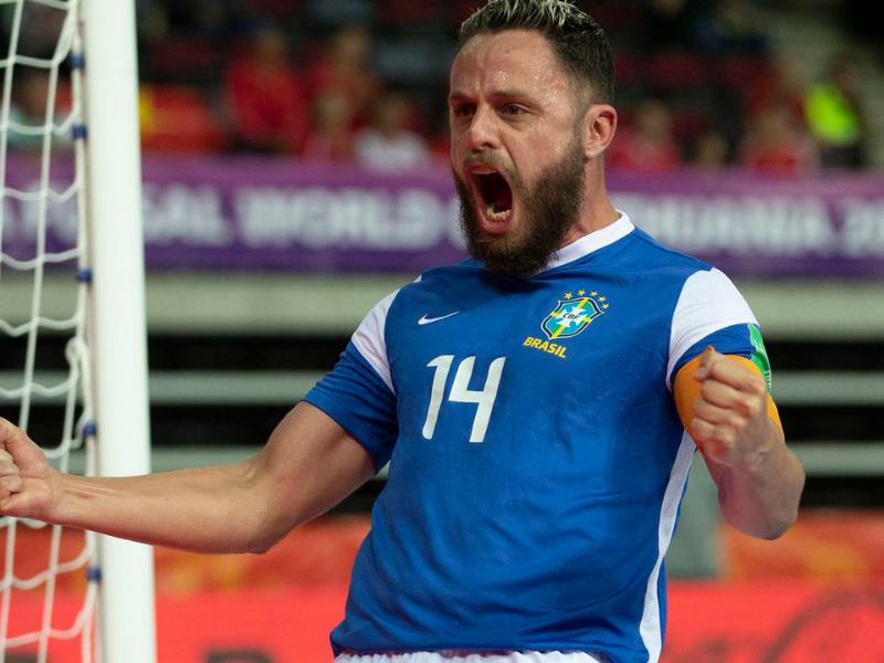 Com time experiente, Brasil quer apagar 2016 e retomar coroa do futsal - Reprodução